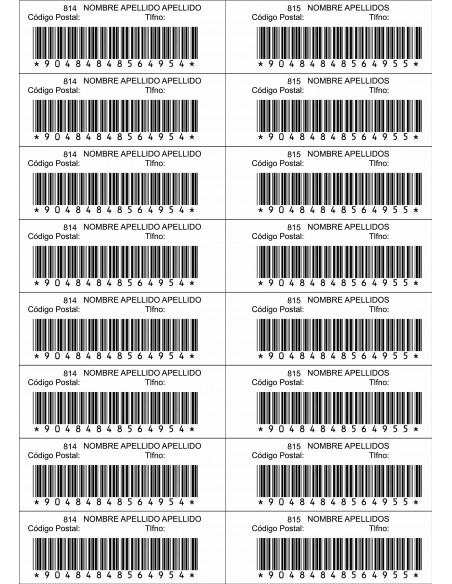 Etiquetas adhesivas láser APLI