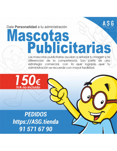 MASCOTA PERSONALIZADA
