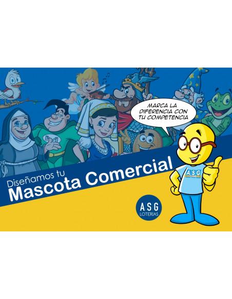 Diseño de Mascota o logotipo Personalizada para tu Lotería - ASG