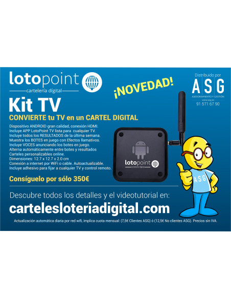 Kit TV LotoPoint