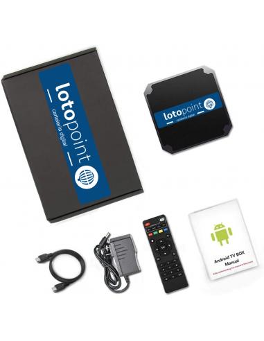 Kit TV LotoPoint mini - contenido