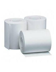 Lote de 20 rollos papel térmico blanco 110mm