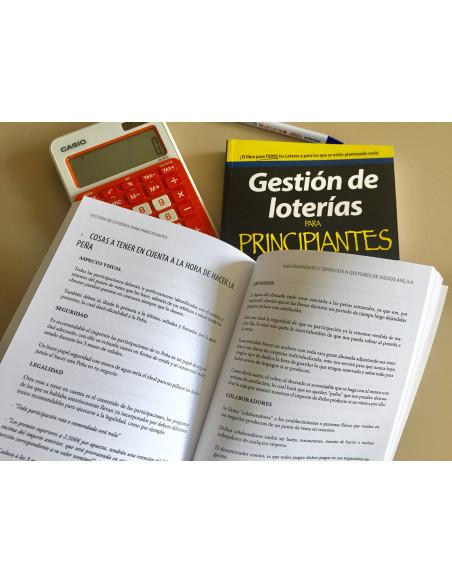 """LIBRO """"Gestión de Loterías para Principiantes"""""""